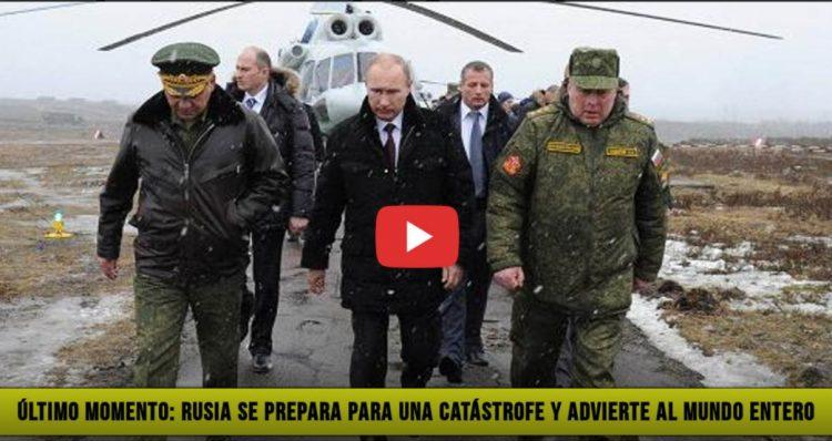 Último Momento: Rusia prepara su Ejército para una Catástrofe y advierte al Mundo Entero, CombatZonePR