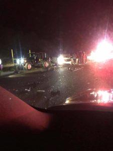 FB IMG 1548632713212 225x300 - Accidente con persona pillada en el desvío nuevo de Barranquitas