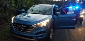 20190525 190354 300x146 - Policia Municipal de Toa Alta recupera vehiculo usado en diferentes Robos