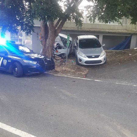 IMG 20190804 WA0003 450x450 - Muere conductor al chocar un arbol en la Torre en Barranquitas