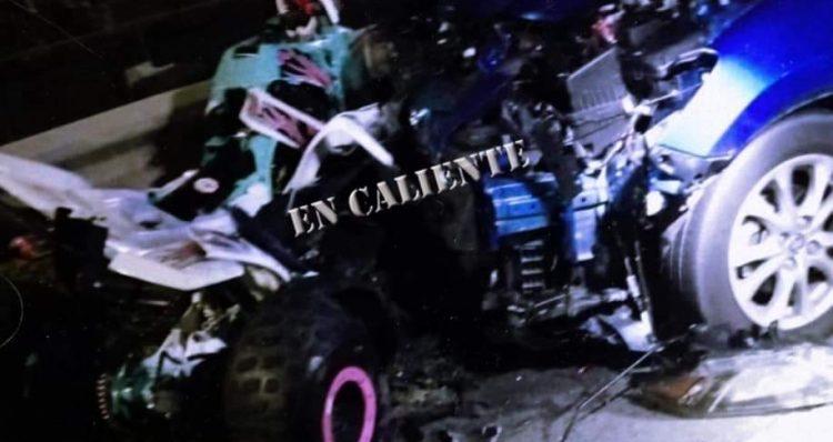 (Video)Accidente de FourTrack en Bayamon deja 3 muertos y un herido, CombatZonePR