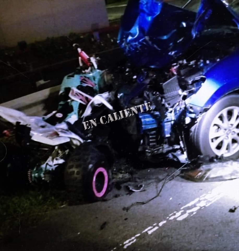 FB IMG 1579350594020 - (Video)Accidente de FourTrack en Bayamon deja 3 muertos y un herido