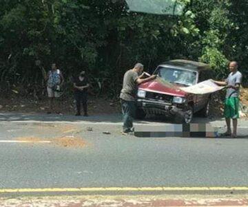 FB IMG 1590164967904 360x301 - Cierran tramo del botellero por accidente fatal de motora