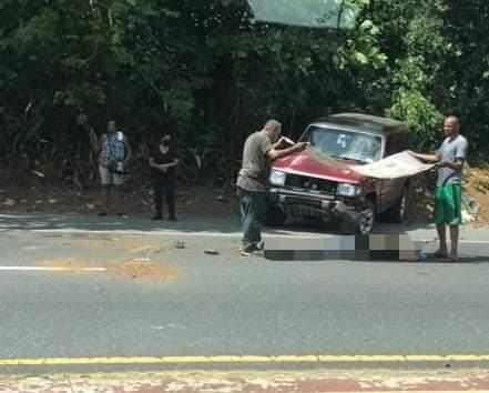FB IMG 1590164967904 - Cierran tramo del botellero por accidente fatal de motora