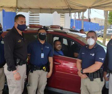 agente atropellado 360x301 - Dan de alta a agente atropellado por vehiculo Polaris en Arecibo