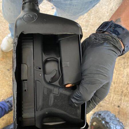 """Screenshot 20200813 171118 Chrome 450x450 - Ocupan una pistola en """"four track"""" confiscado a """"Tito El Bambino"""""""