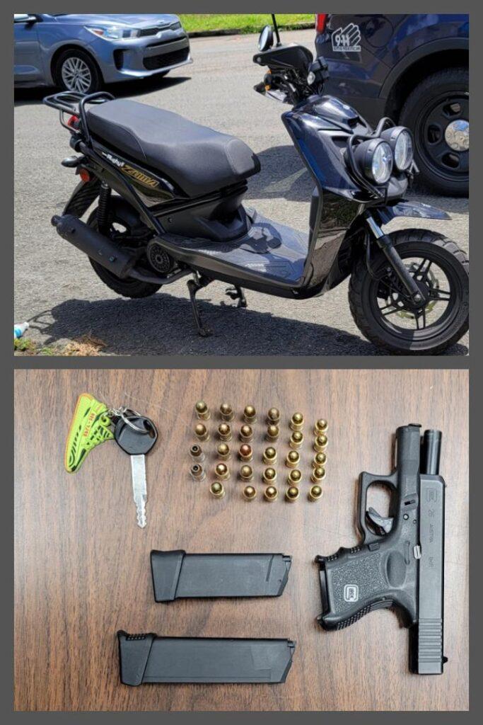 2021 03 26 20.44.47 683x1024 - Arrestan Joven con una pistola en Toa Alta Heights en Toa Alta.