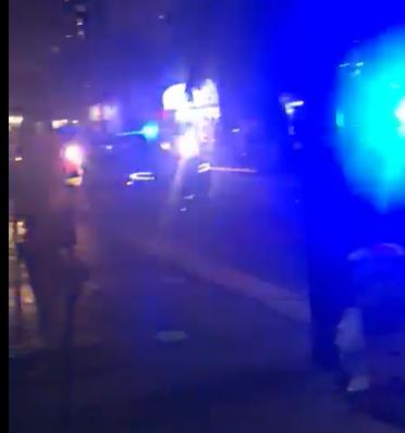 Turista le grito ridículo y pendenjo a Policía primero, CombatZonePR