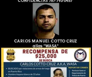"""ARRESTAN A """"WASA"""", FUGITIVO VINCULADO CON EL ASESINATO DE TRES POLICÍAS EL PASADO 11 DE ENERO, CombatZonePR"""